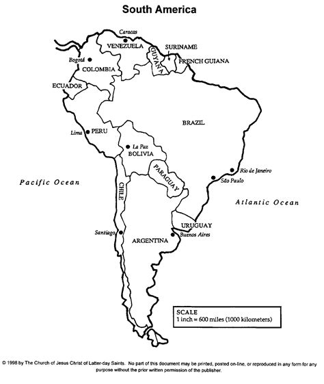 printable maps of south america south america map from research guidance gif throughout