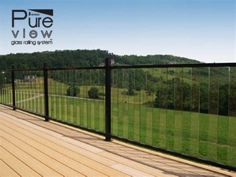 aluminum deck railing systems san francisco to new york 25 best ideas about glass railing system on