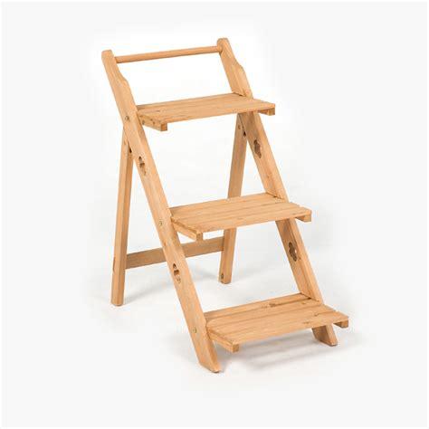 Folding Etagere terra folding 3 tier fsc wooden etagere on sale fast delivery greenfingers
