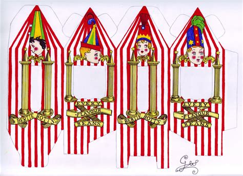 bertie botts every flavour beans template harry potter crafts bertie botts every flavour beans