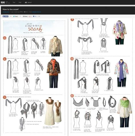printable directions on how to tie a scarf how to tie scarves free large images how to tie