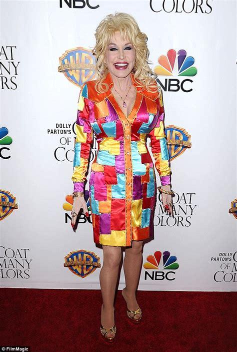dolly parton a coat of many colors dolly parton wears a coat of many colors at premiere of