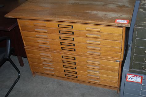 used flat file cabinet used flat files roll files plan racks hopper s