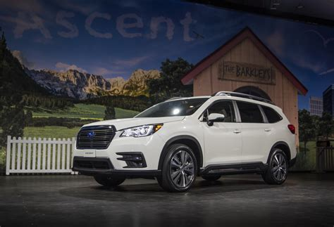 2019 Subaru Ascent by 2019 Subaru Ascent Production Will Create New At