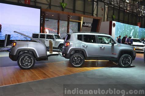 renegade jeep black jeep renegade hard steel concept 2015 geneva live