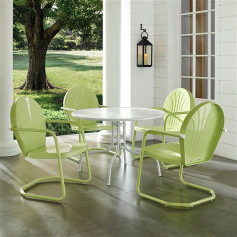 crosley furniture griffith outdoor patio dining set