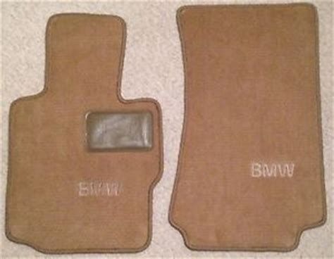 2001 bmw z3 color floor mats 2 fronts with bmw