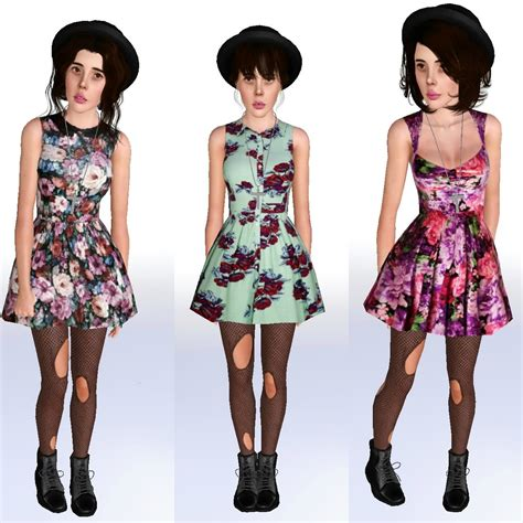 my sims 3 3 fling dresses by ilikeyourfacesims