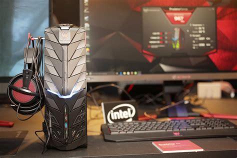 acer pounces on vr gaming with new predator desktop and laptop pcs acer predator g1 gaming bilgisayar