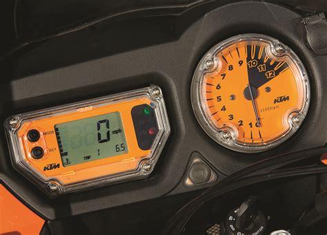 Ktm Speedo 2007 Ktm 990 Adventure Road Test Rider Magazine Ktm