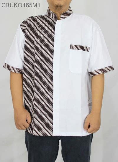 Batik Printing Berbahan Katun Primisima Dengan Motif Parang Prada koko batik katun motif parang pancing koko batik murah batikunik