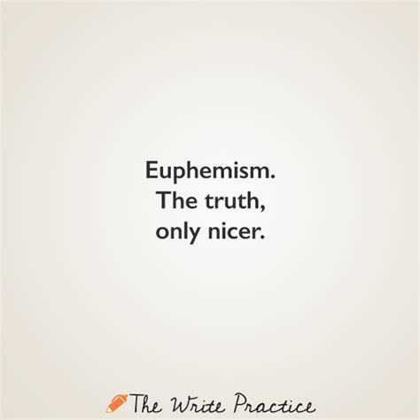 exle of euphemism euphemism definition and exles for writers