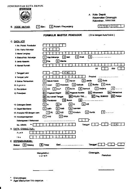 membuat teks prosedur pembuatan ktp forms