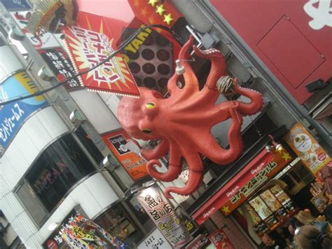 Osaka Part 1 Of 2 by Tako Octopus Shinsaibashi Osaka Japan Tako Desu