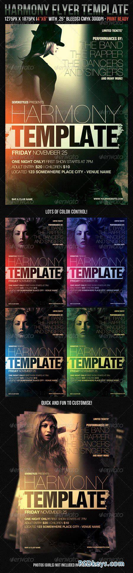 harmony flyer template harmony flyer template 226101 187 free photoshop