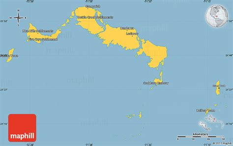 turks and caicos world map savanna style simple map of turks and caicos islands