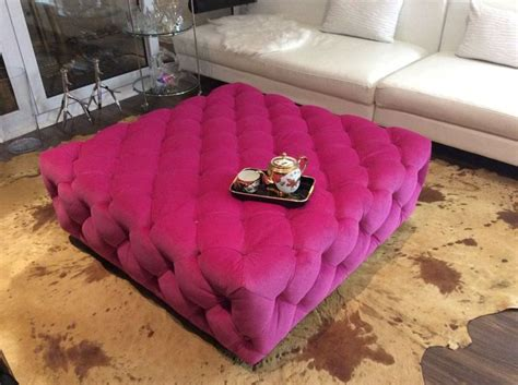 pink tufted ottoman ottoman day bed coffee table bench large tufted
