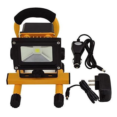 120v led work light ledwholesalers 12 watt rechargeable portable led work