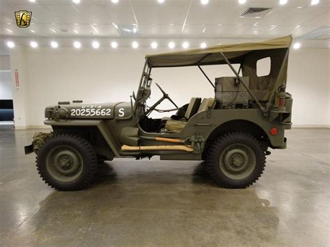 1942 Jeep For Sale 1942 Jeep Willys For Sale Hotrodhotline