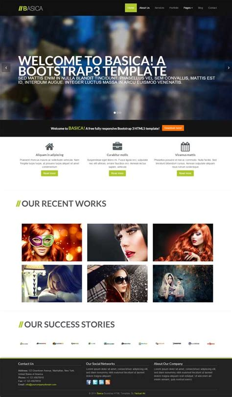 bootstrap layout free download 30 bootstrap website templates free download