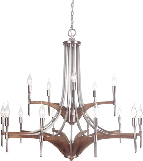 Whiskey Barrel Chandelier Craftmade 40315 Bnkwb Tahoe Brushed Nickel Whiskey Barrel Ceiling Chandelier Cft 40315 Bnkwb