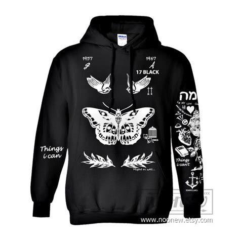 harry styles tattoo hoodies sweatshirts women sweater by