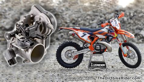 Ktm 2 Stroke Fuel Injection Dirt Bike Magazine Ktm Announces 2018 Fuel Injected Two