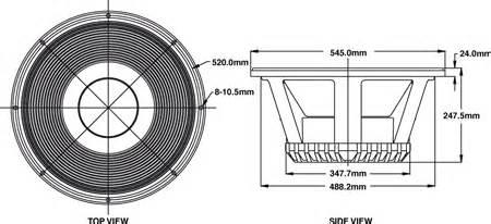 Komponen Speaker P Audio Sd 21 p audio sd21 21 quot woofer the p audio sd21 is a 21