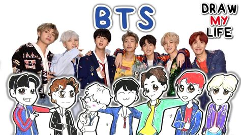 bts my biography bts draw my life doovi
