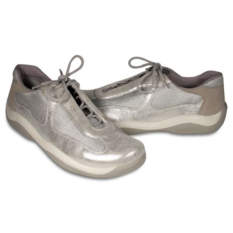 prada shoes for prada shoes for silver sneakers pr3163 prw65