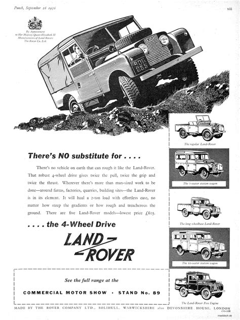 Form Follows Function Spacequest Vintage Land Rover Ad
