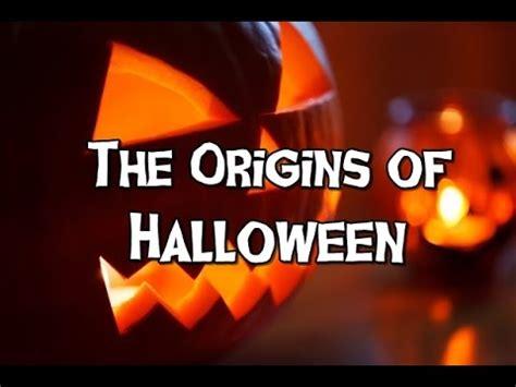 the origins of halloween youtube