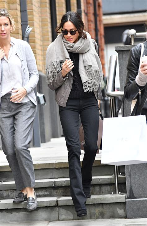 Amel Parka Maroon meghan markle pictures prince harry s spotted