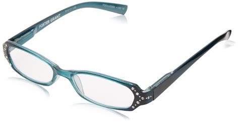 foster grant zaddie teal s reading glasses 1 25