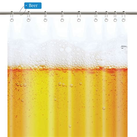 beer shower curtain beer shower curtain iwoot