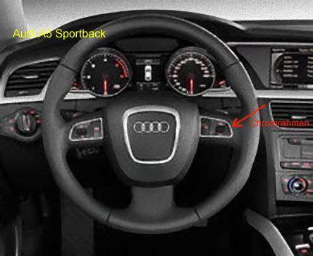 Lenkrad Audi A4 by Audi A5 Sportback S Line Lenkrad Chromumrandung Bei Mufu