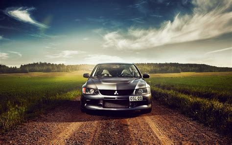 Classic Car Wallpaper 1600 X 900 Resolution Vs 1080p by Car In Green Road Wallpaper Best Hd Wallpapers
