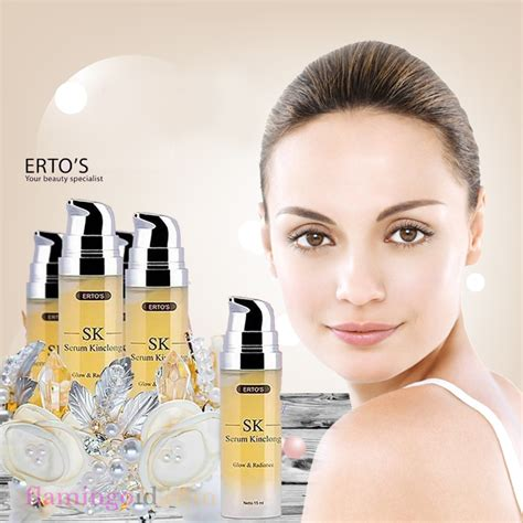 Ertos Treatment Dan Serum Kinclong paket ertos care produk pembersih pemutih 100