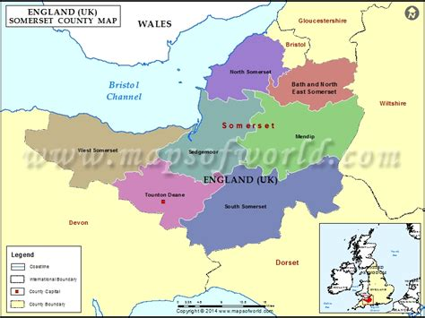 map uk somerset somerset county map map of somerset county
