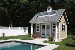Pool Houses Plans Heritage Pool House Pleasant Run Structures
