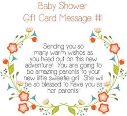 top 10 baby shower gift card messages pearls