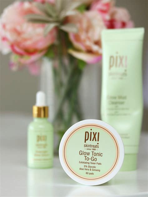 Pixy Glow Tonic 5 Glycolic Acid the summer of skin care glycolic acid goodness with pixi