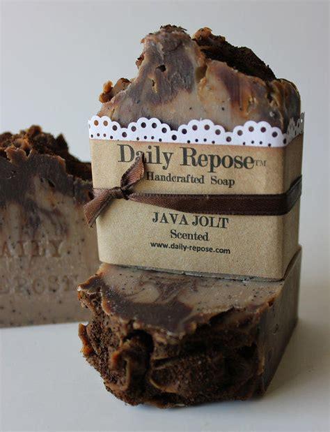 Zayma Soap java jolt coffee handmade soap bar from dailyrepose on etsy