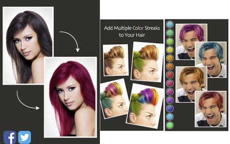 hair color booth for iphone лучшие приложения для выбора прически peopletalk