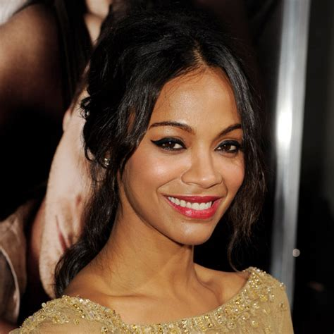african hair style that suits wonan with high cheek bones zoe saldana the 50 best red carpet looks of 2012