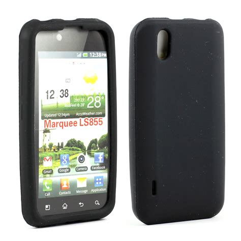 Soft Silikon Coolpad Max wholesale lg marquee ls855 silicon soft black
