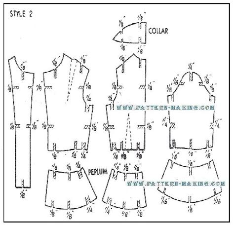 Jacket Pattern Grading | how to grade jacket and coat pattern making com