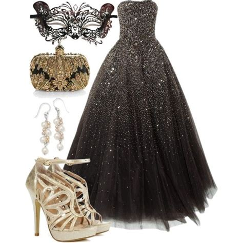 Masquerade ball quot by aerochic on polyvore so want to do this for my