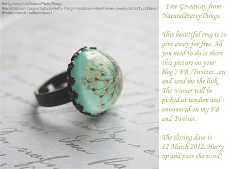 Real Free Giveaways - free giveaway real flower jewelry by junmoore on deviantart