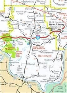 harrison county map clean lakes program harrison county